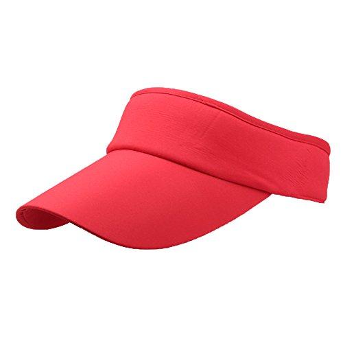 Preisvergleich Produktbild LEEDY Ausverkauf Sonnenschild Visor Cap Sonnenhut Einstellbar Sommerhut mit Klettverschluss Outdoor Freizeit Training Cap Baseball Cap für Damen und Herren