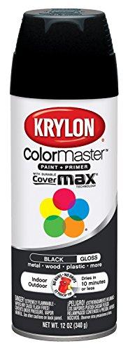 Krylon K05160107 ColorMaster Paint + Primer, Gloss,...