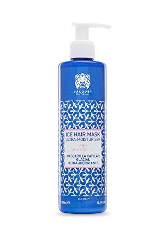 Válquer Premium Ice Hair Mask Mascarilla Capilar efecto hielo Ultrahidratante. Sin sal, sin parabenos, sin sulfatos. Cabellos secos - 300 ml