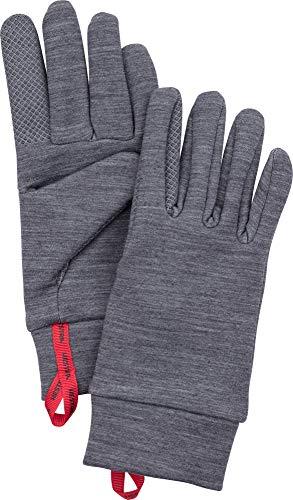 Hestra Gants tactiles Touch Point Warm Wool Liner Base Layer Run Randonnée Ski Gris 11