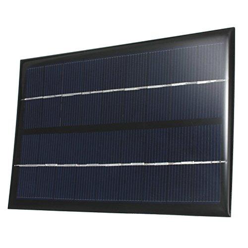 9V 3W 330mA mini Solar Panel Ladegerät Solarmodul-System DIY