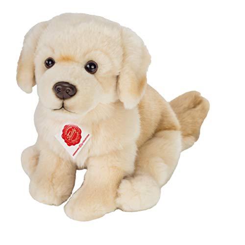 Teddy Hermann 91955 Hund Golden Retriever 25 cm, sitzend, Kuscheltier, Plüschtier