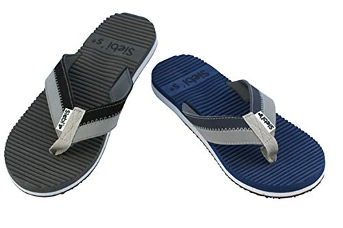 Siebi's ANTON Flip Strandschuhe Herren modischer und sportlicher Zehentrenner: Siebi's ANTON Flip Strandschuhe Herren modischer und sportlicher Zehentrenner: Größe: 44/45 EU | Farbe: Schwarz