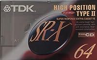 TDK カセットテープ SR-X 64分 ハイパワー ハイポジ SR-X64R