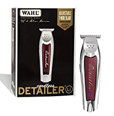 PROFESSIONAL PRECISION: From Wahl Professional's commercial grade line of products, the Wahl Professional 5-Star Series Lithium-Ion Cord/Cordless Detailer Li is intended for professional use only and is designed to deliver the sharp performance that ...
