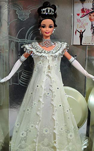 barbie MY FAIR LADY embassy ball eliza doolittle 1995 Audrey Hepburn