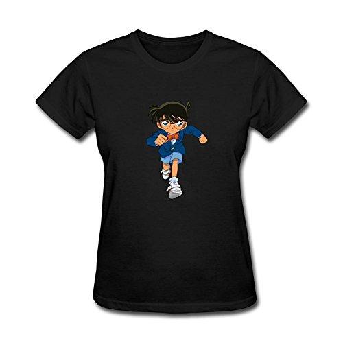 XIULUAN Detective Conan - Camiseta de Manga Corta para Mujer