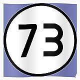 cocoblack Show 73 Geek Tv Sheldon Cooper Math BBT Geschenk