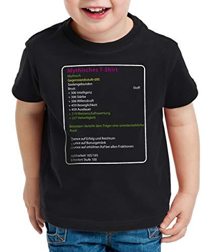 style3 Mythisches T-Shirt für Kinder, Größe:164