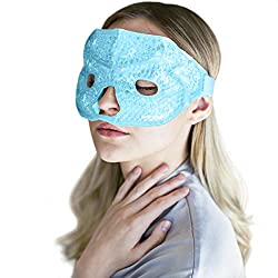 Hot and Cold Therapy Gel Bead Facial Eye Mask
