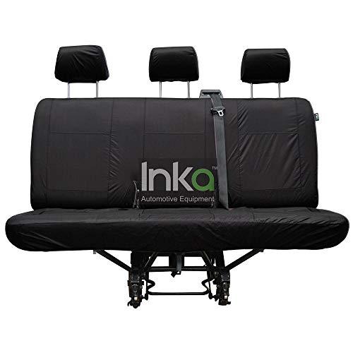 INKA - Funda para asiento trasero impermeable para volksWagen T6 T5 Caravelle