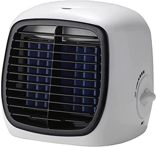 CA Portátil Mini Clim - Aire acondicionado portátil con batería silenciosa  Refrigerador de aire portátil y evaporativo  Aire acondicionado móvil personal para dormitorio  Aire acondicionado barato