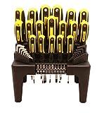 Juego de destornilladores magnéticos con soporte organizador,...