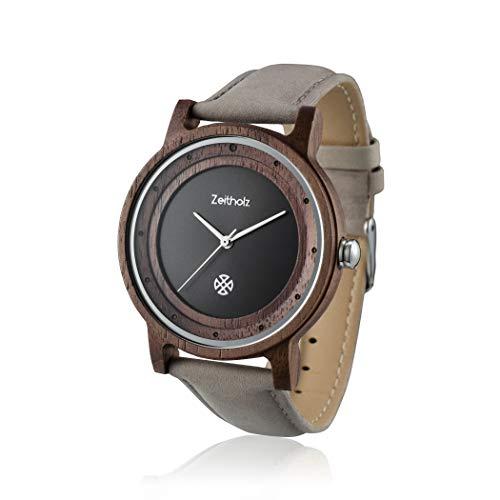 ZEITHOLZ – Reloj de Madera para Hombre, Modelo Eibenstock – Caja d