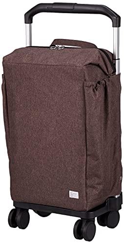 [エース] キャリーカート ショッピングカート 保冷機能付き マイバッグ カートタイプ 4輪 37352 ブラウン