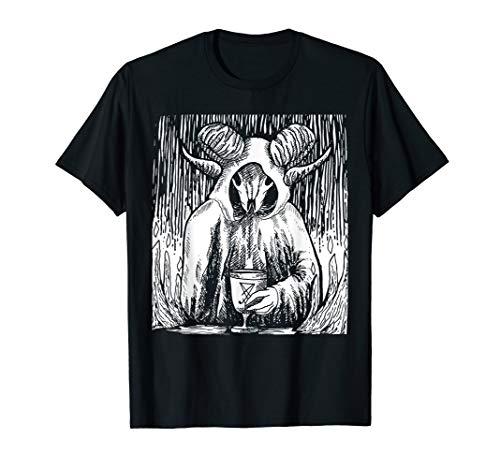 Behemoth Monster mit Horn T-Shirt Offizielle Originalvorlage T-Shirt