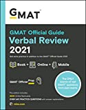 GMAT Official Guide Verbal Review 2021: Book + Online + Mobile