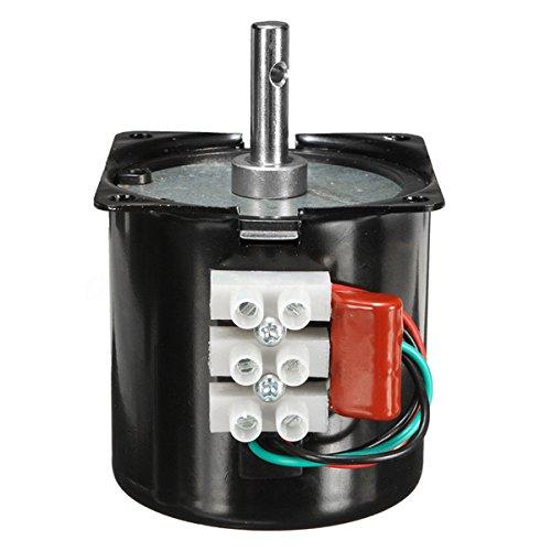 CR-AC 220 V 14 W reductor sincrónico motor motor motor motor motor engranaje desmultiplicado (velocidad: 110 rpm)