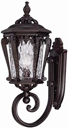new arrival Acclaim 3551ABZ Stratford Collection 1-Light Wall Mount Outdoor Light discount lowest Fixture, Architectural Bronze sale