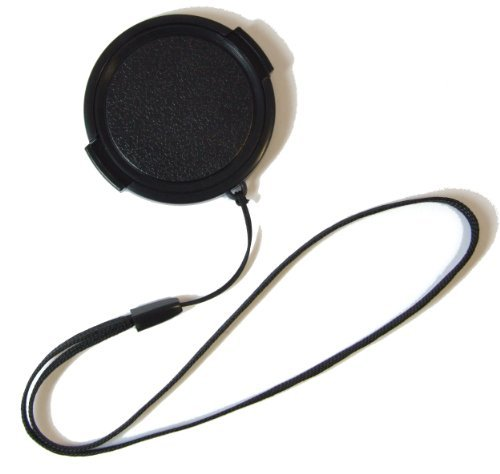 The Camera Hunter Lens Cap with String Leash Strap for Canon Powershot SX10IS, SX10, SX20IS, SX20, SX30, SX30IS Digital Camera Replacement