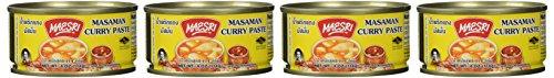 Maesri Thai Masaman Curry  4 Oz Pack of 4
