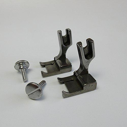 Prensatelas de elevación con bisagras para máquina de coser industrial Juki Ddl-5550 8500 555 (1/16 pulgadas)