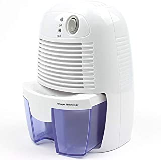 Electric Mini Dehumidifier, 1200 Cubic Feet (150 sq ft), Compact and Portable for High Humidity in Home, Kitchen, Bedroom,...