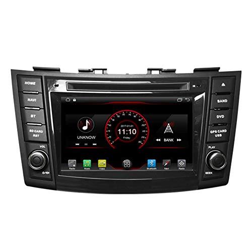 7 pulgadas en el tablero Android 10 Reproductor de DVD para automóvil Radio Unidad principal Navegación GPS Estéreo para Suzuki Swift 2011-2017 Suzuki Ertiga 201 - -2017 Soporte Bluetooth SD USB Radi