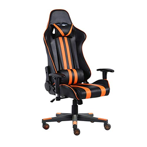 JISHIYU Competencia de Internet Cafe Silla Ordenador Silla ergonómica de Juego Home Office Silla reclinable Gaming (Color : B)