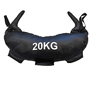 HCE Weight Bag Powerbag with Fabric Handle - Durable Weighted Power Bag, Heavy Strength Lifting Sandbag Excellent Exercise Equipment for Crossfit, Bulgarian Military Training Workout from China