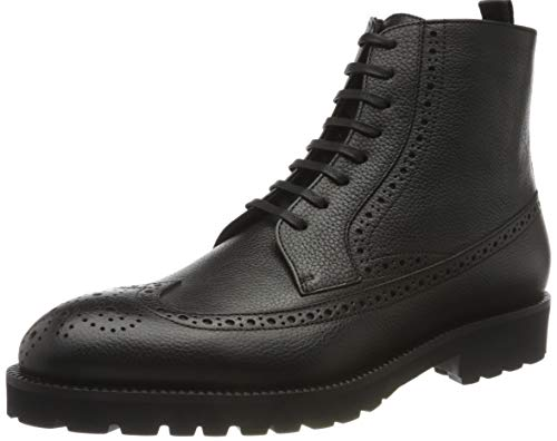 BOSS Herren Edenlug_Halb_grbgw Half Boot, Black1, 43
