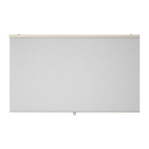 IKEA HOPPVALS Wabenjalousie in weiß; (120x155cm)