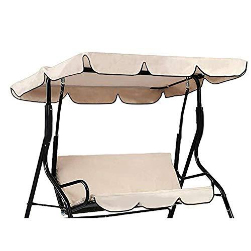 Time Collect, tettoia di ricambio a prova di pioggia, parco, copertura per altalena da esterno per altalena da 2 e 3 posti.