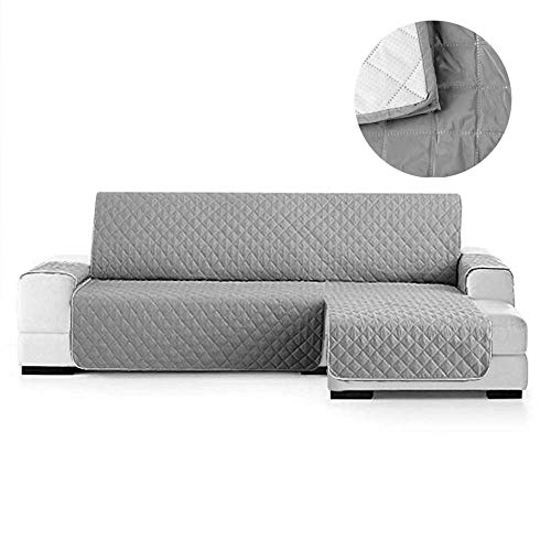 NIBESSER Sofabezug Sofaüberwürfe für Ecksofa L-Form rutschfest&Wasserabweisend Sofabezug Schützen vor Haustiere und Kindern