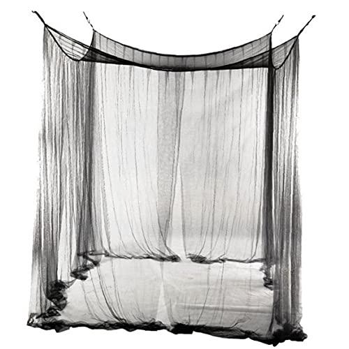 Aiyrchin Mosquitera para la Cama de protección contra Insectos Interior/Exterior Plaza en Redes Individual de Doble tamaño, 190 x 210 x 240 cm, con 4 Ganchos