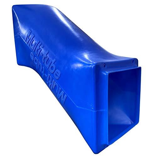move and stic Krabbelröhre blau Multi Tube Tunnelröhre Krabbelrutsche Tunnelrutsche Röhrenrutsche