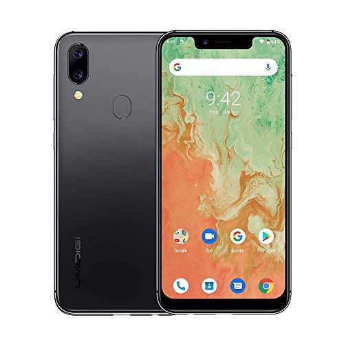 UMIDIGI A3X, 2020 Smartphone Offerta del Giorno 5.7 pollici, Triplo Slot 2 Nano SIMs+1 MicroSD, Quad-Core 256GB Espandibili, 16MP+5MP Camera, 3GB+16GB, 3300mAh Smartphone Economici - Space Grey