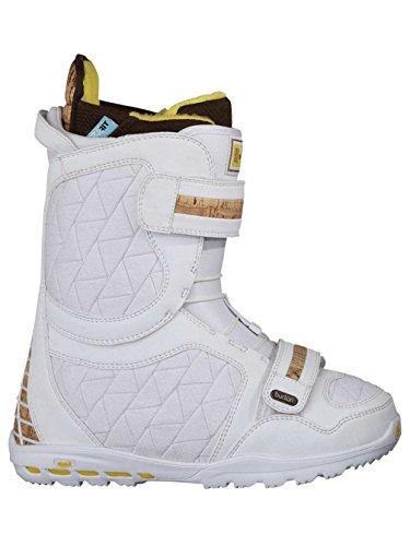 Femme Boots de snowboard pour Burton Axel Femme 10/11 42,5 white / white / cork