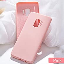 For Huawei P10 P20 P30 Plus P10 P20 P30Lite P10 P20 P30 Pro Soft Liquid Silicone Case For Mate9 10 20 Pro Plain Candy Color Case (Pink, For Mate 20 Pro)