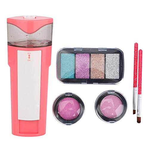 YOUTHINK Little Girl Simulation Elektrokosmetik Kinder geben vor, Make-up-Set Luftkissen Rouge...