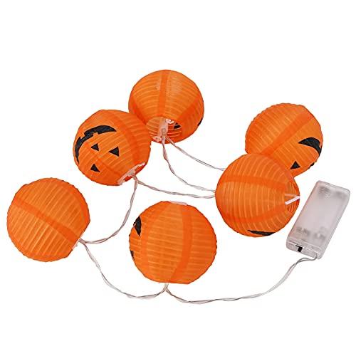 Halloween Light, Plastic Pumpkin Light Multifuncional Ligero Plegable Para Decoraciones De Halloween