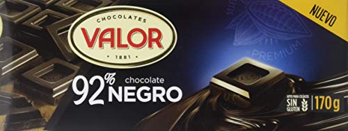 Valor, Chocolate Negro 92% cacao- 18 de 170 gr. (Total: 3060 gr.)