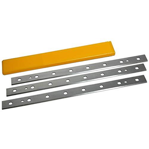 Replacement Planer Blades 12-1/2 Inch For DeWalt DW734 Planer Blades, Thickness Planer, Replace DW7342 - Set Of 3
