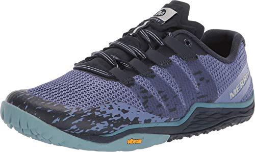 Merrell Trail Glove 5, Zapatillas Deportivas para Interior Mujer, Azul (Velvet Morning), 37 EU