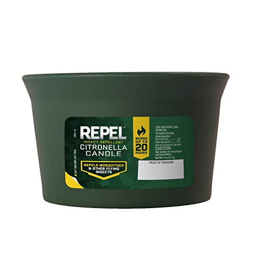 Repel 94224 Insect Citronella Candle, Pack of 1
