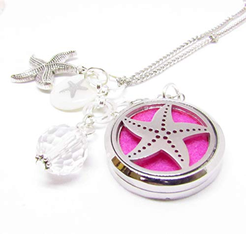 Starfish Rear View Mirror Car Charm   Essential Oil Diffuser   Stocking Stuffer Gifts