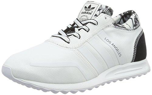 adidas Damen Los Angeles Sneakers, Weiß (FTWR White/FTWR White/Core Black), 36