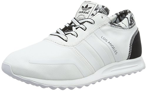 adidas Damen Los Angeles Sneakers, Weiß (Ftwr White/Ftwr White/Core Black), 38 EU