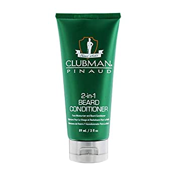 Clubman Pinaud 2-in-1 Beard Conditioner and Face Moisturizer 3 oz