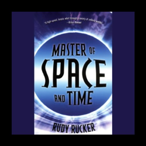 Master of Space and Time audiobook cover art